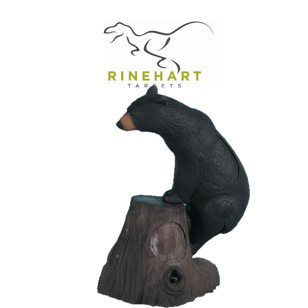 Rinehart Honey Bear & Tree Stump 3D Target