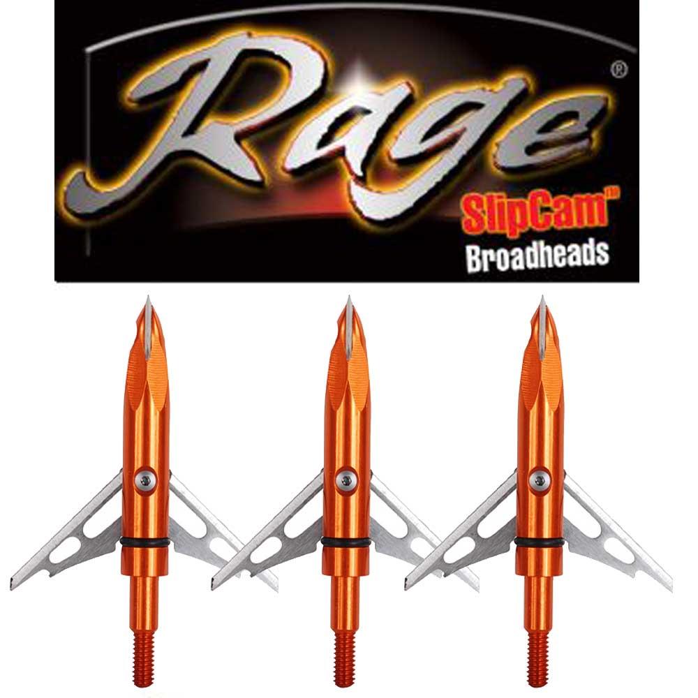 The Archery Company Rage Crossbow Broadheads 100gr Or
