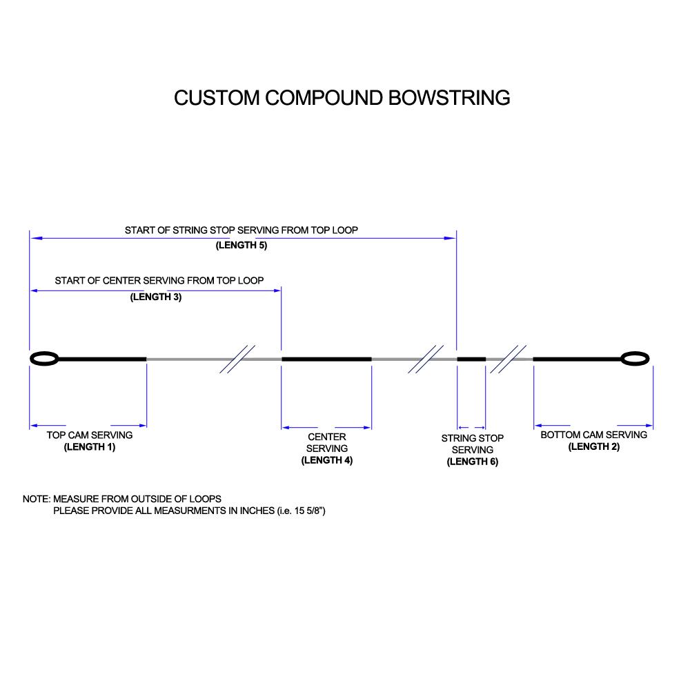 The Archery Company - TAC Custom Compound Strings