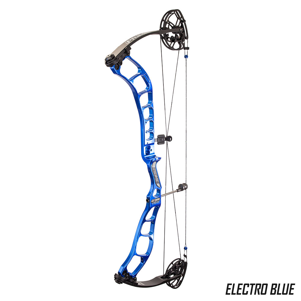 On Target Bow Wrist Sling made for Compound Bows in Black//Blue