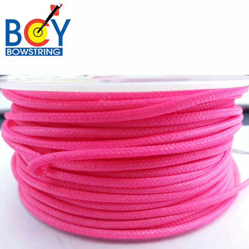 25ft BCY d loop release cord string Pink