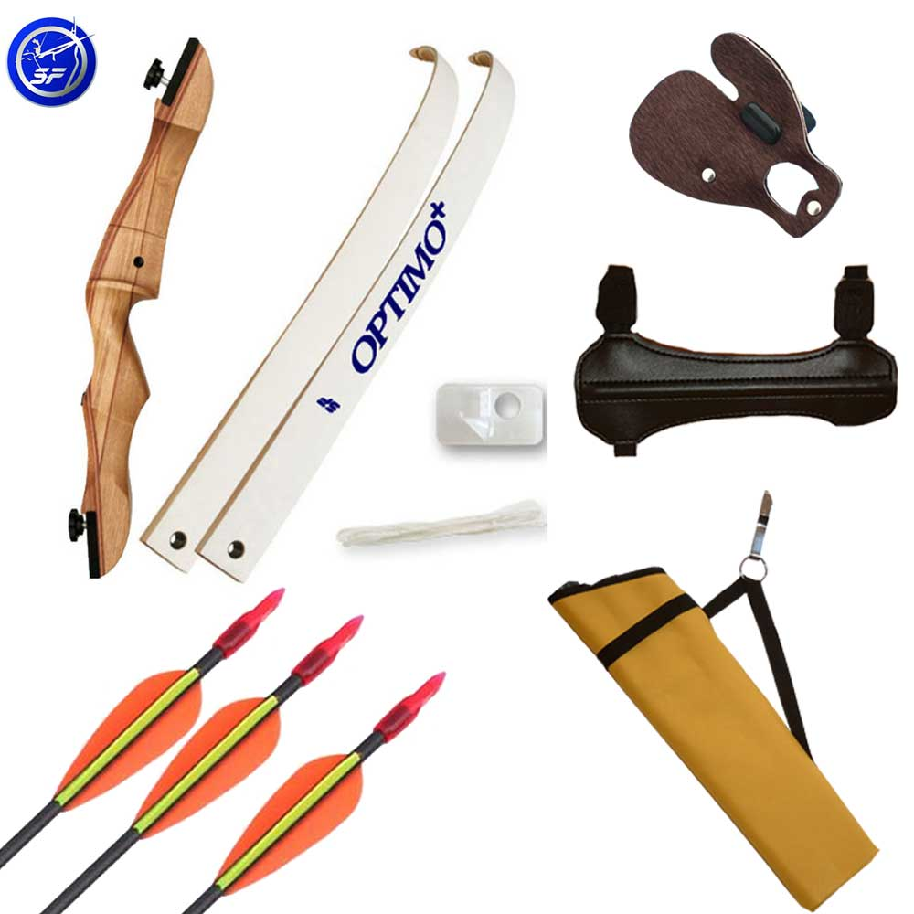 Beginners Wooden Recurve Bow & Kit