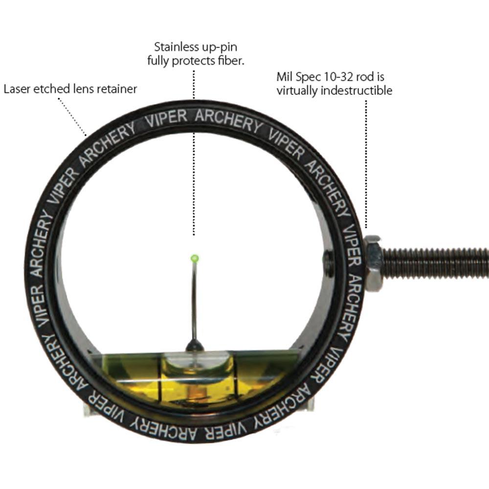 The Archery Company Viper Scope Small 1 3 8 Quot Black
